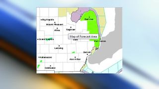 National Weather Service issues high wind warning