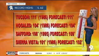 Dangerous heat continues into the weekend