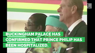 Palace Confirms: Ailing 96-Year-Old Prince Philip Admitted to Hospital - Video