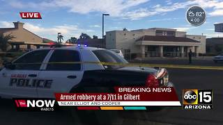 Attempted robbery suspect injured, arrested in Gilbert - Video
