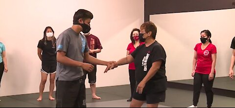 Las Vegas Kung Fu Academy helps the AAPI community stay safe