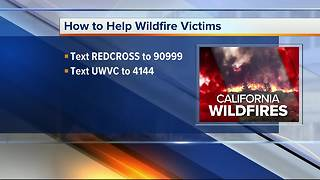 How to help victims of the California wildfires - Video