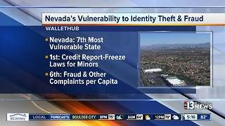 Nevada is 7th most vulnerable state for identity theft - Video