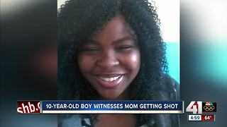 Mother of 2 shot to death while 10-year-old son was inside home - Video