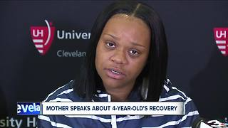 Mother of 4-year-old Cleveland boy shot in the head speaks about recovery, healing - Video