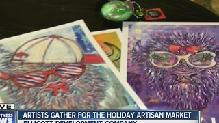 Artists gather at Ellicott Building for holiday Artists Market - Video