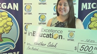Excellence in Education: 1213/16: Heather Sobek - Video