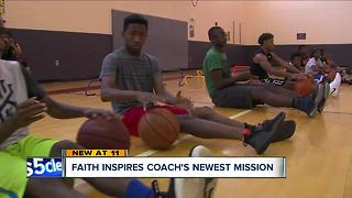 Faith inspires one coach's newest mission to help Cleveland's youth - Video