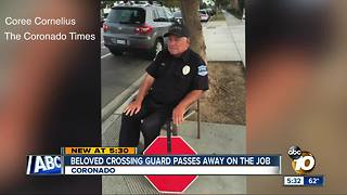Beloved Coronado crossing guard passes away - Video