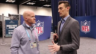 Buffalo Bills head coach Sean McDermott 1-on-1 with Joe Buscaglia at the 2019 NFL Scouting Combine (2/27/19)