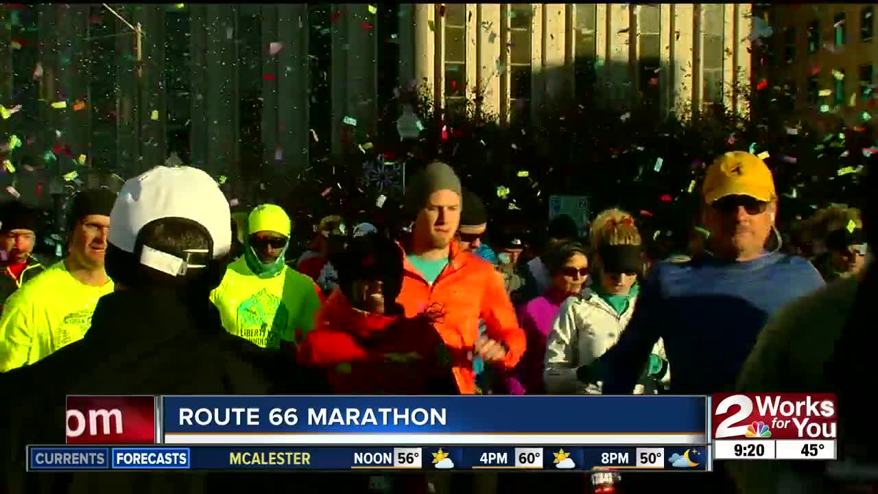 A preview of the Route 66 Marathon in Tulsa