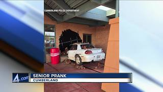 Cumberland High School seniors have epic senior prank - Video