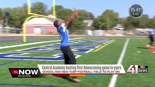 Central Academy hosting first homecoming in years - Video