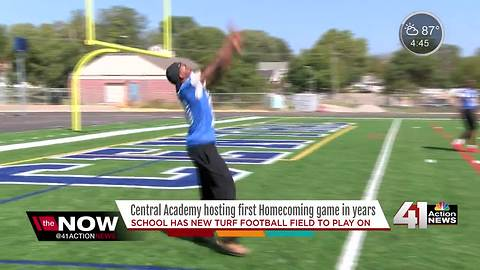Central Academy hosting first homecoming in years