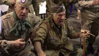 WWII Veteran Vince Speranza Leads Rousing Rendition of 'Blood on the Risers' - Video