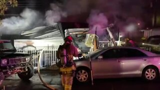 Woman dies in mobile home fire