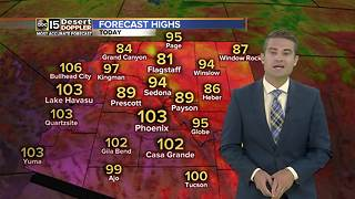 Dangerous heat returning to the forecast - Video