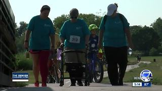 First ever Colorado run/walk to fight lymphedema - Video