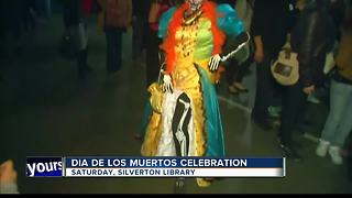 Day of the Dead Celebration comes to Meridian Library Silverton - Video