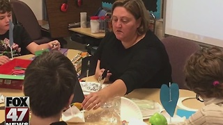 Special education teacher wins Excellence in Education award. - Video