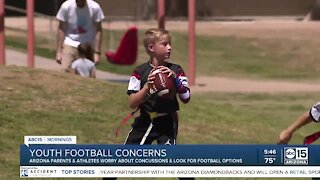 More parents concerned about letting kids play football