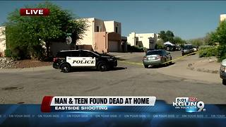 Man, teen found dead at eastside home - Video
