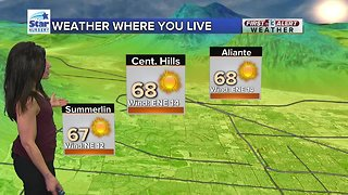 13 First Alert Las Vegas Weather March 16 Morning - Video