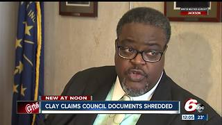 Stephen Clay claims council documents shredded - Video