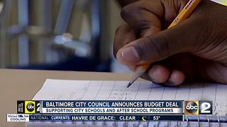 City Council announces budget deal - Video