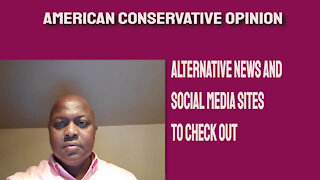 Alternative news and social media sites to check out