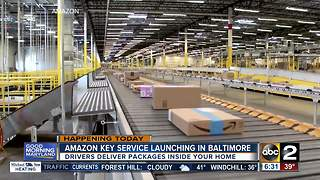 Amazon Key service launches in Baltimore Wednesday - Video