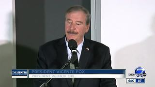 Former president of Mexico praises Denver's immigration stance - Video