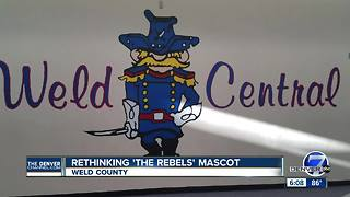 Weld County School examines 'Rebel' Confederate mascot - Video