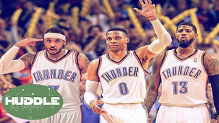 Carmelo Anthony to the Thunder; Can They Beat the Warriors?  The Huddle - Video