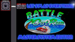 Let's Play Everything: Battle OutRun