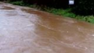 Flooding Hits Co Laois Town as River Bursts Banks - Video