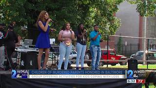 Children of Murdered Parents Honored in Baltimore - Video