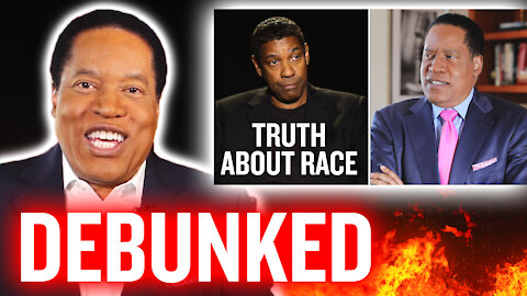 Larry Elder Debunks Hater's Comment on Denzel Washington Viral Video | Larry Elder