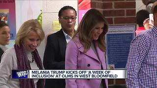 Melania Trump, Betsy DeVos to visit metro Detroit school today - Video