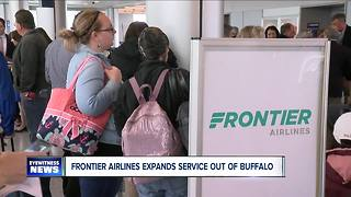 Frontier Airlines adds 3 new destinations to roster - Video