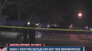 Residents in far east side neighborhood rethink location after latest homicides - Video