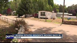 Riviera Estates residents moving back in - Video