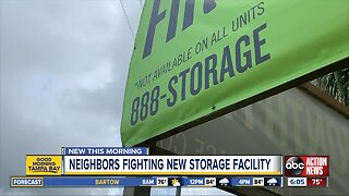 Seminole Heights neighbors rally against storage facility on Hillsborough Ave