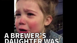 A Brewer's Daughter Was Not Happy Her Dad Didn't Win - Video