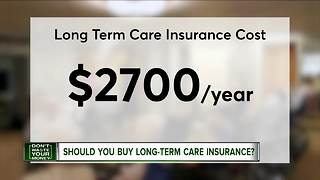 Should you get long term care insurance