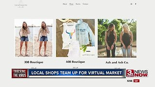 Local shops team up for virtual market