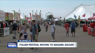 Italian Festival moving to Niagara Square