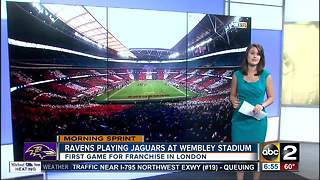 Ravens preparing for first game in London this weekend - Video