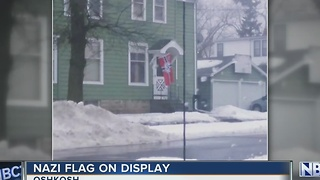 Neighbors Upset Over Nazi Flag - Video