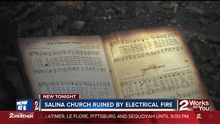Church ruined in fire, pastor relying on faith